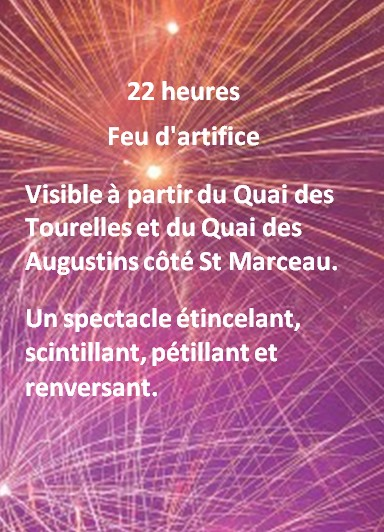 feu d'artifice